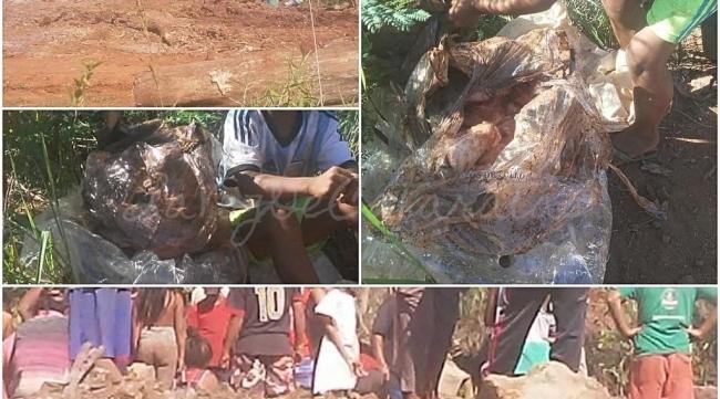 Miséria atinge Puerto Iguazú: população desenterra frangos estragados para comer
