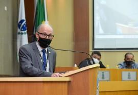 Diretor-geral brasileiro de Itaipu, general João Francisco Ferreira - Crédito: Rubens Fraulini   Itaipu Binacional