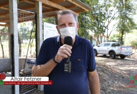 O secretário Altair Luiz Fetzner reforçou a necessidade do zelo por parte da população