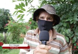 Agricultor, Erci Heger, Morador da comunidade de São José dos Pinhais