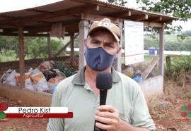 Outro agricultor que aprovou a iniciativa foi Pedro Kist de Linha Caçador