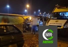 Polícia Militar realiza bloqueios durante Operação AIFU em Medianeira