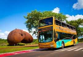 Estrutura fica no Parque da Piracema e é parte do roteiro turístico de Itaipu.Foto: Rubens Fraulini/Itaipu Binacional