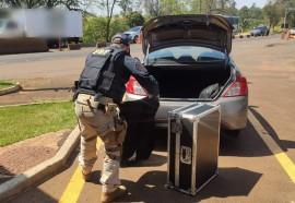 PRF prende três homens que furtaram hotel em Foz do Iguaçu - Créditos: PRF