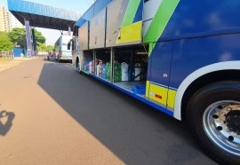Ônibus retidos hoje pela manhã - 27/09/2021