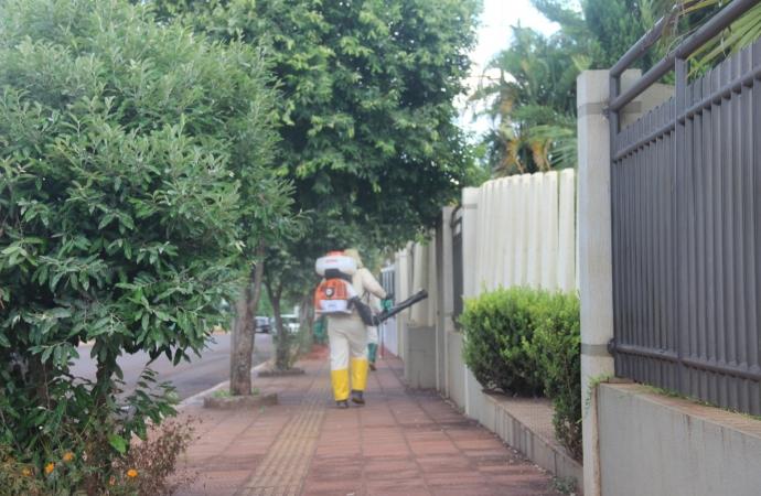 Ação de bloqueio contra a Dengue é realizada em Serranópolis do Iguaçu