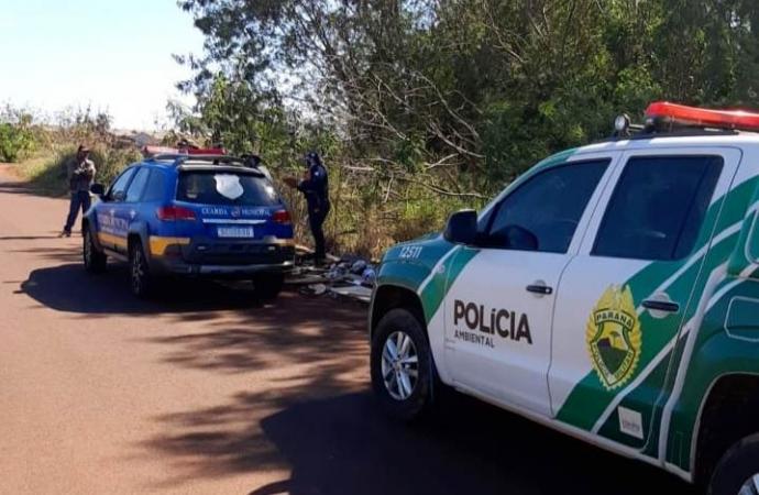 Ação de fiscalização evita invasão em Área de Proteção Permanente em São Miguel do Iguaçu