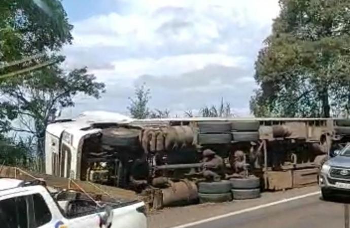 Acidente com vítima fatal é registrado na BR-277 em Matelândia