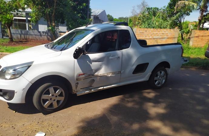 Acidente de trânsito deixa motociclista ferido em Santa Helena