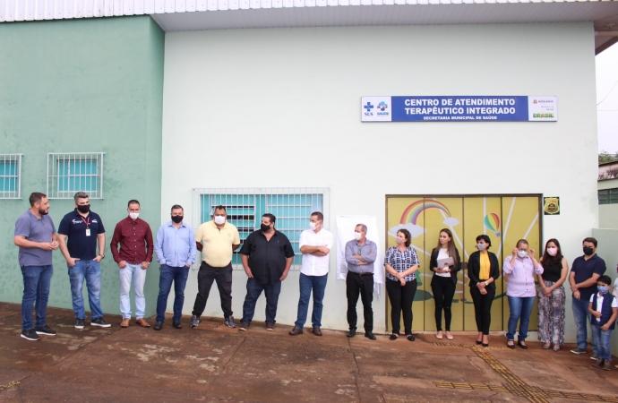 Administração entrega a Comunidade o Centro de Atendimento Terapêutico Integrado Matelândia