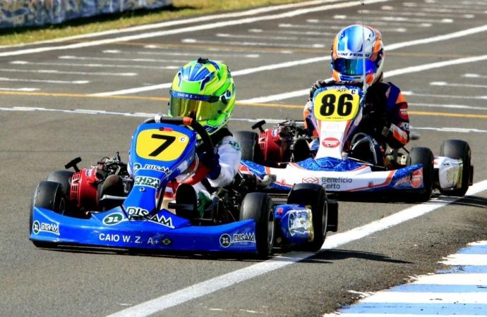 Animado, Zorzetto chega a Londrina para sua primeira Copa Brasil de Kart