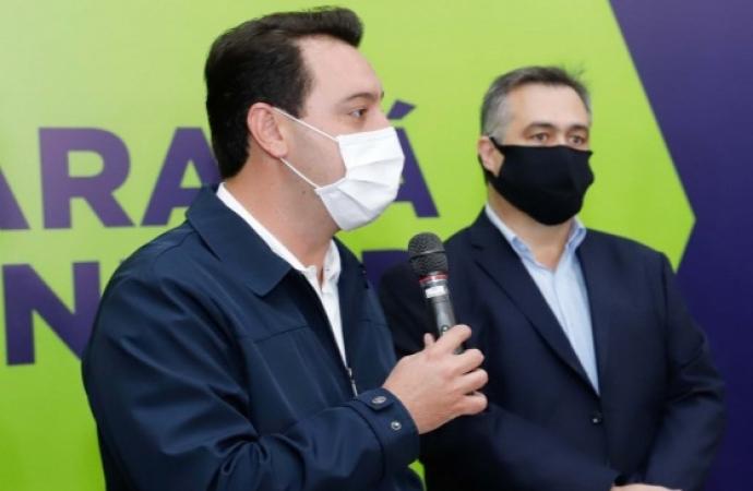Governo do Paraná anuncia as novas medidas preventivas contra o coronavírus; assista