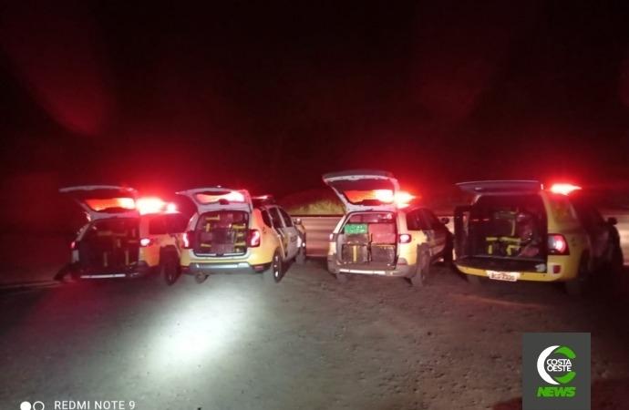 Após apreensão de 1,3 toneladas de droga em Diamante do Oeste, Denarc prende integrantes de esquema de tráfico