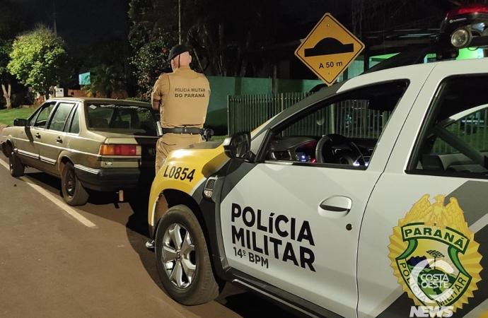 Após denúncia, PM de Itaipulândia recupera carro furtado em Matelândia