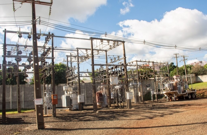Após pedido do Governo de São Miguel e do deputado Hussein Bakri, Copel ativa subestação móvel de energia