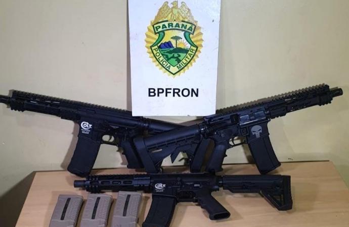 Apreensões de armas de fogo caem 10% no Paraná no primeiro quadrimestre
