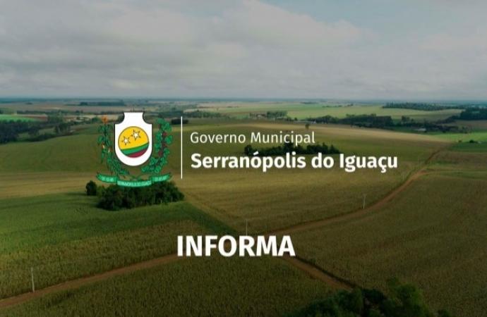 Atendimento na prefeitura de Serranópolis é realizado somente via telefone e por agendamento