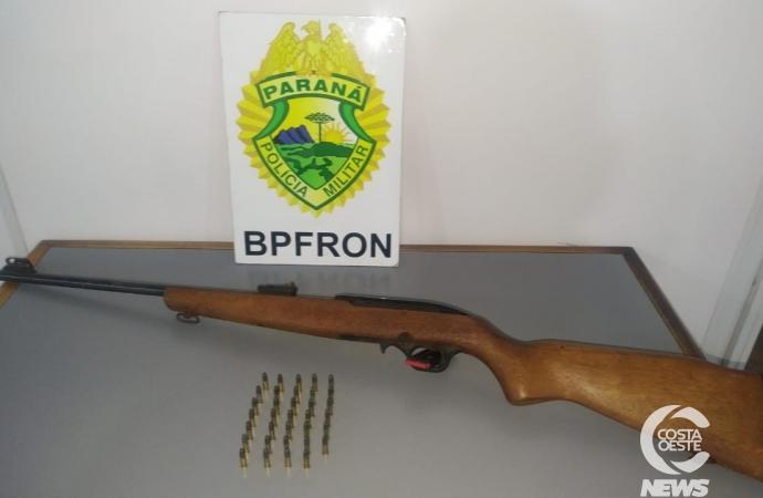 BPFRON apreende arma de fogo durante abordagem em Pato Bragado