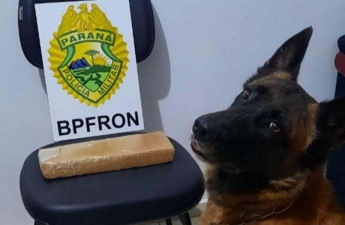 BPFron apreende casal transportando droga em Santa Helena