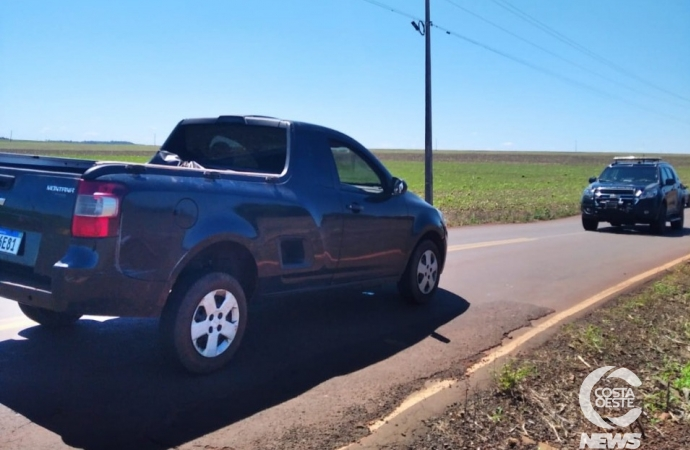 BPFRON recupera em Santa Helena veículo furtado em Santa Catarina