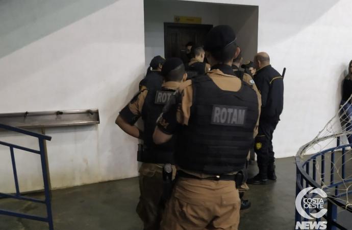 Briga e denúncia de homem armado mobiliza Polícia Militar em jogo de futsal em Santa Helena