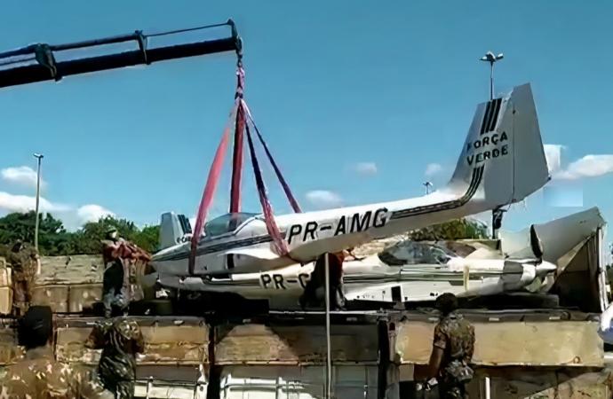 Campus da Unioeste em Foz recebe doação de duas aeronaves de asa fixa