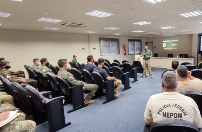 CAOP-PF ministra treinamento aerotático a unidades especiais da fronteira.