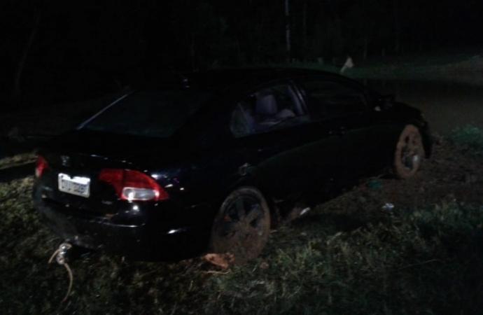 Carro cai dentro de açude e dois homens morrem na região