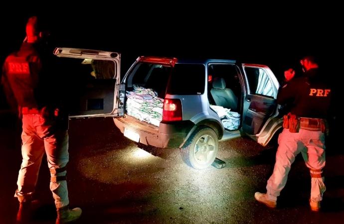 Casal que saiu de Itaipulândia é preso pela PRF com defensivos agrícolas do Paraguai