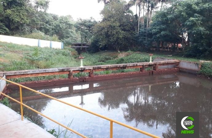 Chuvas abaixo da média voltam a preocupar a Sanepar em Medianeira