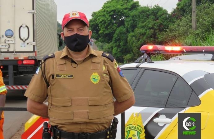 Com alta ocupação de leitos no Paraná, PRE realiza operação rigorosa nas rodovias, diz comandante