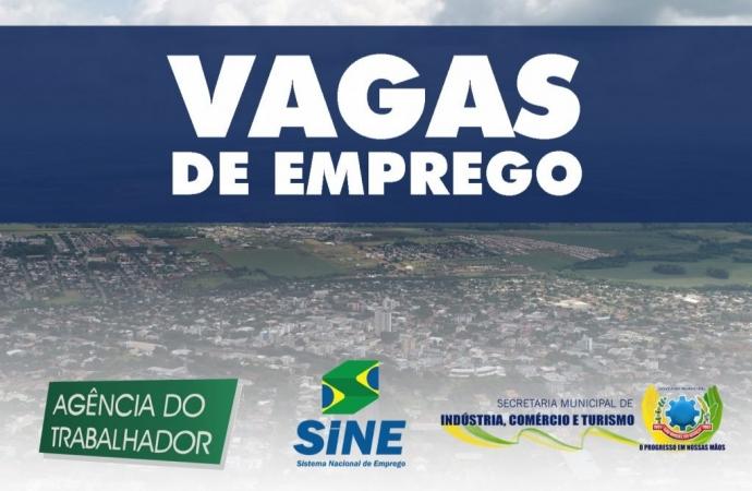 Confira as vagas da Agência do Trabalhador de São Miguel do Iguaçu para esta quarta-feira (21)