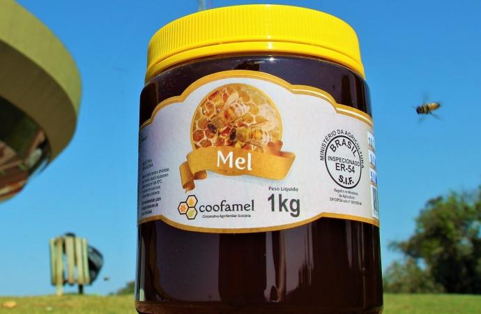 Coofamel conquista o SIF possibilitando a produção e exportação do mel a partir de Santa Helena