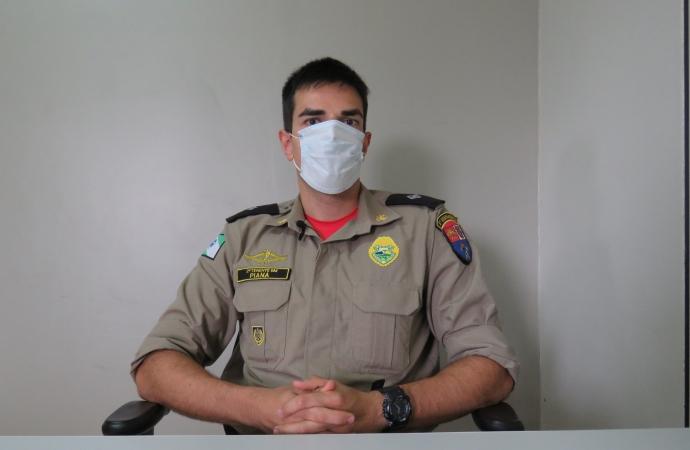 Coordenador regional da Defesa Civil esclarece fatos acerca da interdição de prédio em Santa Helena