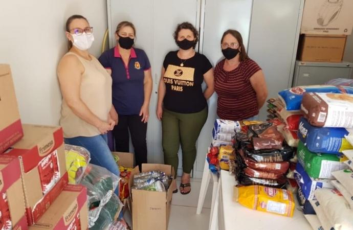 CRAS de Matelândia recebe doações de ação realizada pela Acima