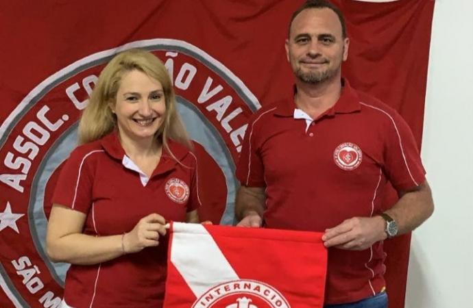 Daniela é a primeira mulher eleita presidente pela Associação dos Colorados Coração Valente de São Miguel