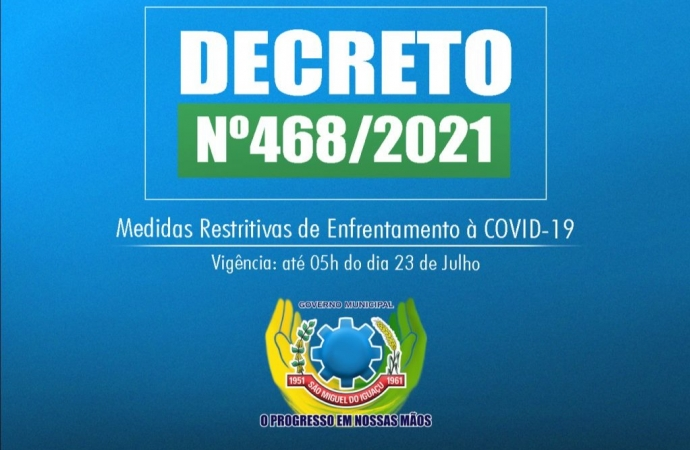 Decreto altera Toque de Recolher e libera eventos em locais autorizados e com restrição de público em São Miguel