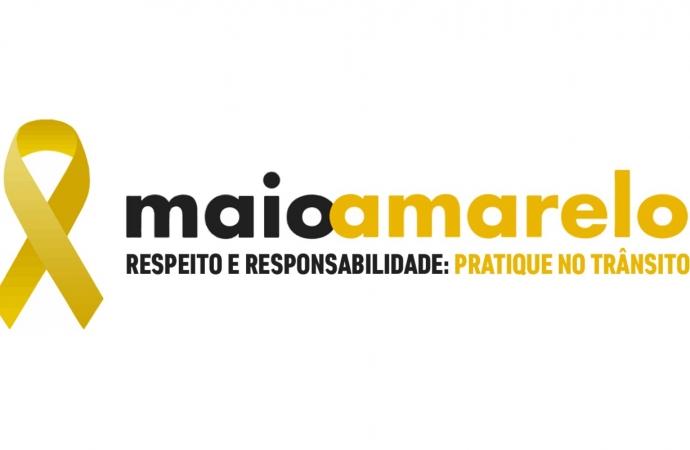 Detran Medianeira realiza ações alusivas ao Maio Amarelo