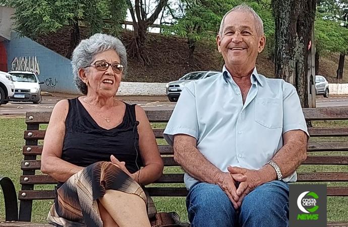 Dia dos Namorados: Conheça a história do casal são-miguelense Diva e Alcides Ropelato