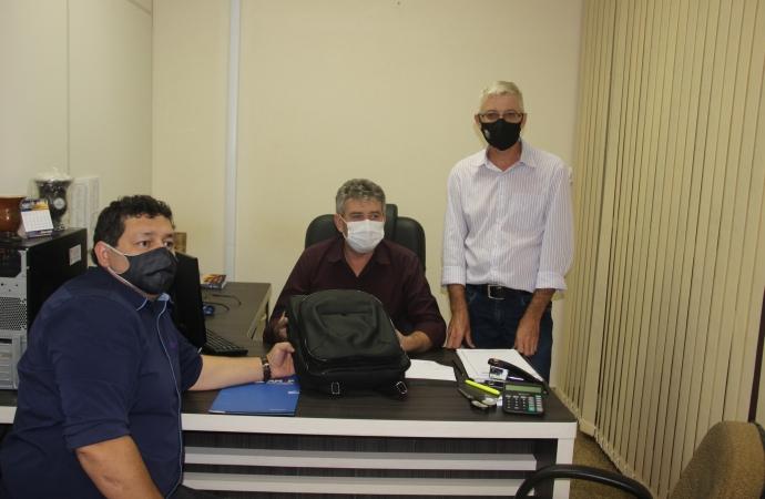 Diretor executivo da AMOP visita Serranópolis do Iguaçu