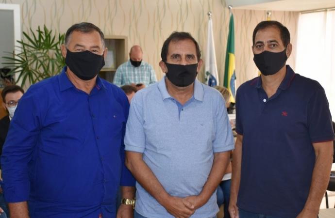 Diretor Geral de Infraestrutura cumpre agenda de trabalho em São Miguel do Iguaçu