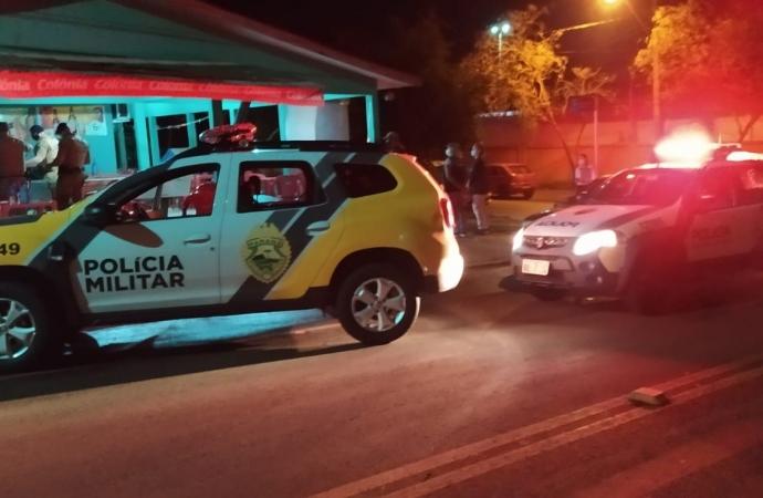 Durante Operação AIFU, polícia apreende cocaína, detém homem e fecha bar em Santa Helena