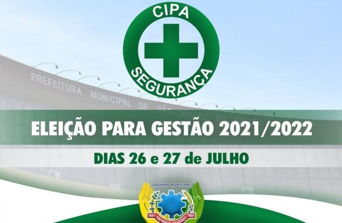 Eleição da CIPA para gestão 2021/2022 será na próxima semana