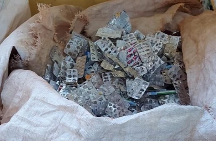 Em Itaipulândia população descarta, irregularmente, cerca de 80kg de medicamentos a cada 60 dias