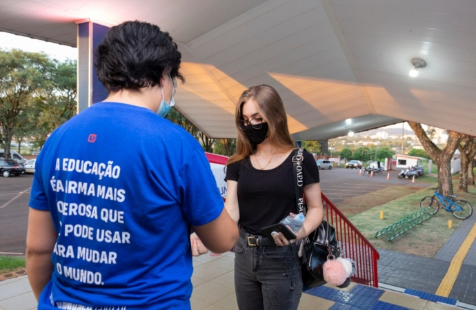 Ensino Híbrido: Mesmo com pandemia UNIGUAÇU inicia novas turmas presenciais em São Miguel do Iguaçu