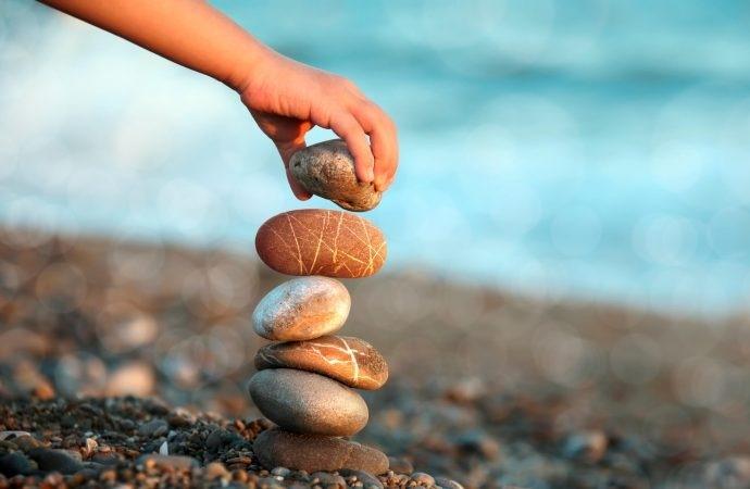 Equilíbrio na vida