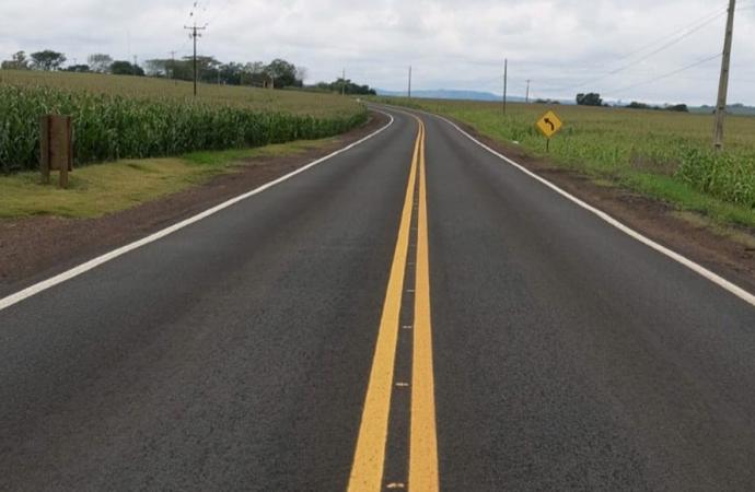 Estado investe R$ 7,8 milhões em melhorias em rodovia de Missal a Esquina Céu Azul, em Santa Helena