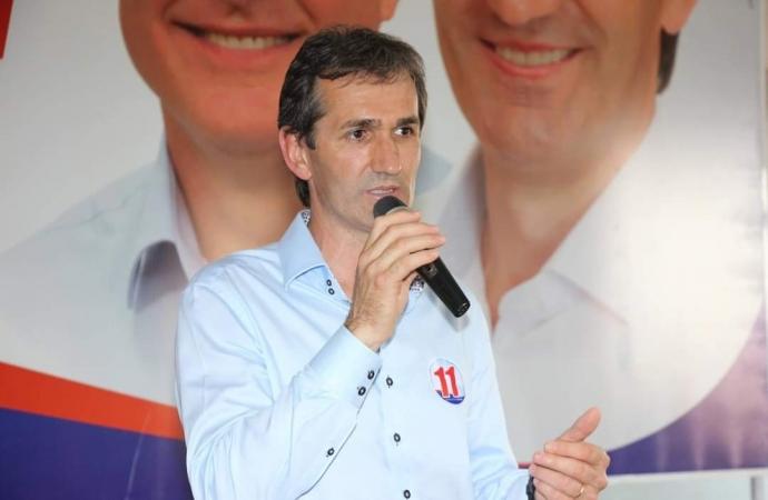 Ex-prefeito de Santa Helena e assessor de Schiavinato, Jucerlei Sotoriva lamenta morte do deputado federal