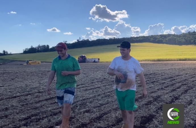 Família Angheben troca parreirais de uva no RS pelas lavouras de soja e milho no Paraná