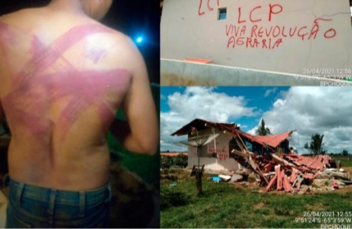 'Fomos vítimas de terrorismo', diz dono de fazenda destruída em Rondônia